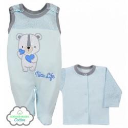 Dojčenská súpravička Koala Nice Life modrá