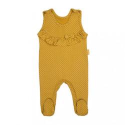Dojčenské bavlnené dupačky Nicol MIchelle podľa obrázku