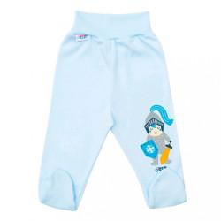 Dojčenské bavlnené polodupačky New Baby Knight modrá