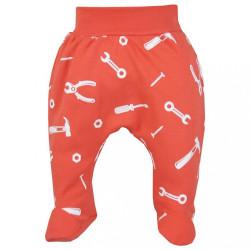 Dojčenské bavlnené polodupačky Repair dark peach podľa obrázku