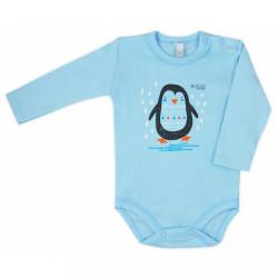 Dojčenské body  Bobas Fashion Mini Baby tyrkysové
