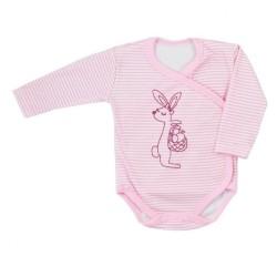 Dojčenské body celorozopínacie Bobas Fashion Mestečko