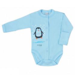 Dojčenské body celorozopínacie Bobas Fashion Mini Baby