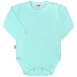 Dojčenské body celorozopínacie New Baby Classic II mätové zelená