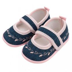 Dojčenské capačky New Baby Jeans ružové 12-18 m