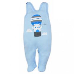 Dojčenské dupačky Bobas Fashion Mini Baby modré