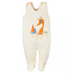 Dojčenské dupačky Bobas Fashion Mini Baby smotanové