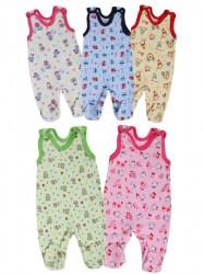 Dojčenské dupačky Bobas Fashion Obláčik - 5 ks podľa obrázku