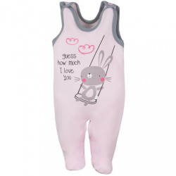 Dojčenské dupačky Koala Swing ružové