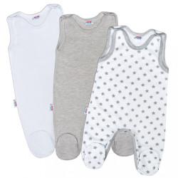 Dojčenské dupačky New Baby Classic II Uni 3ks podľa