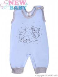 Dojčenské dupačky New Baby Kamaráti modré