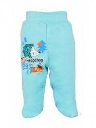 Dojčenské polodupačky Bobas Fashion Ježko tyrkysové