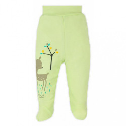 Dojčenské polodupačky Bobas Fashion Mini Baby zelené