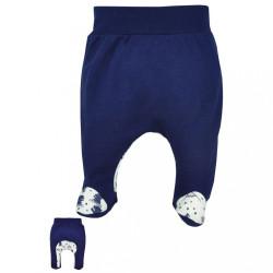 Dojčenské polodupačky Koala Tajga modré