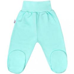 Dojčenské polodupačky New Baby Classic II mätové zelená