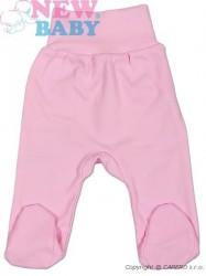 Dojčenské polodupačky New Baby Classic ružová