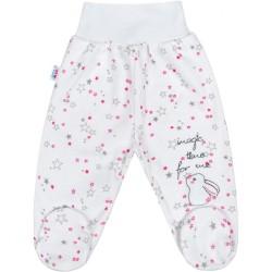 Dojčenské polodupačky New Baby Magic Star ružové