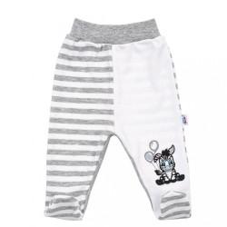 Dojčenské polodupačky New Baby Zebra exclusive biela