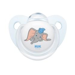 Dojčenský cumlík NUK Disney Classic 6-18m svetlo modrý