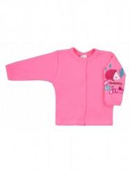 Dojčenský kabátik Bobas Fashion Ježko ružový