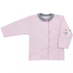 Dojčenský kabátik Koala Swing ružový