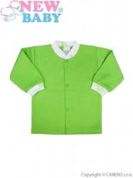 Dojčenský kabátik New Baby Zebrababy II zelený