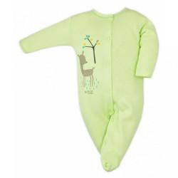 Dojčenský overal Bobas Fashion Mini Baby zelený