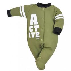 Dojčenský overal Koala Active zelený