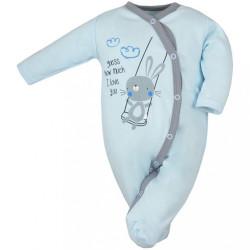 Dojčenský overal Koala Swing modrý