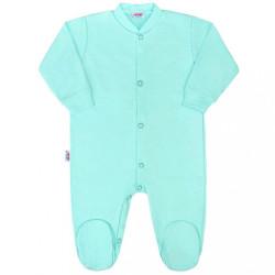 Dojčenský overal New Baby Classic II mätový zelená
