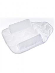 Dojčenský vankúš - 2 kliny Sensillo biela