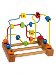 Drevená edukačná hračka Baby Mix Labyrint podľa obrázku