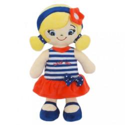 Edukačná plyšová bábika Baby Mix Jessica podľa obrázku