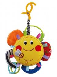 Edukačná plyšová hračka Baby Mix slniečko podľa obrázku