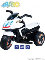 Elektrická motorka BAYO KICK white biela