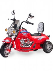 Elektrická motorka Toyz Rebel red Červená
