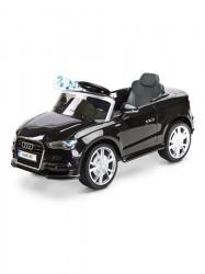 Elektrické autíčko Toyz AUDI A3-2 motory black Čierna