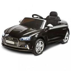 Elektrické autíčko Toyz AUDI S5 - 2 motory black Čierna