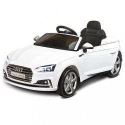 Elektrické autíčko Toyz AUDI S5 - 2 motory white biela