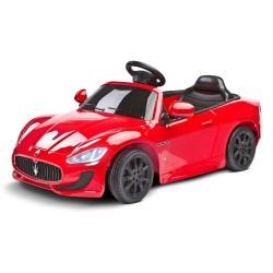 Elektrické autíčko Toyz MASERATI GRANCABRIO - 2 motory red Červená
