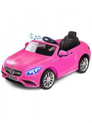 Elektrické autíčko Toyz Mercedes-Benz S63 AMG-2 motory pink ružová
