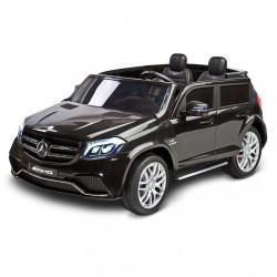 Elektrické autíčko Toyz MERCEDES GLS63 - 2 motory black Čierna