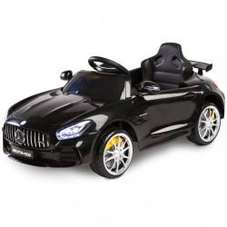 Elektrické autíčko Toyz Mercedes GTR - 2 motory black Čierna
