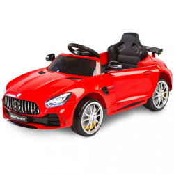 Elektrické autíčko Toyz Mercedes GTR - 2 motory red Červená