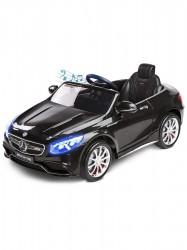 Elektrické autíčko Toyz Mercedes S63 AMG-Benz-2 motory black Čierna