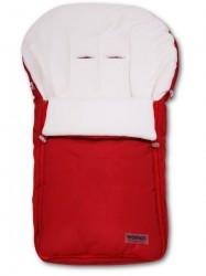 Fusak Womar - fleece - červený