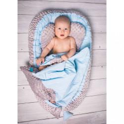 Hniezdočko s perinkou pre bábätko Minky Sweet Baby Belisima ružové #1