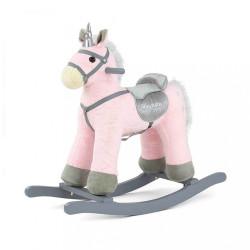 Hojdací koník Milly Mally PePe ružový