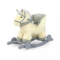 Hojdací koník Milly Mally Polly béžový