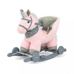 Hojdací koník Milly Mally Polly rúžový